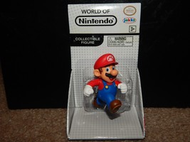 World Of Nintendo Mario Collectible Figure Rare Free Shipping Jakks Pacific - $9.89