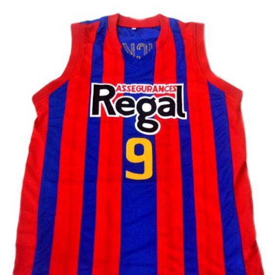 Rubio ricky  9 spain espana regal new basketball jersey red blue 1
