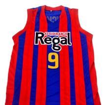 Rubio Ricky #9 Spain Espana Regal Men Basketball Jersey Blue Any Size image 1