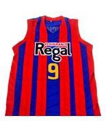 Rubio Ricky #9 Spain Espana Regal Men Basketball Jersey Blue Any Size - $29.99 - $34.99
