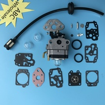 Carburetor & Carb Repair Kit Troy-Bilt TB26TB TB475SS TB490BC TB425CS 75... - $14.83