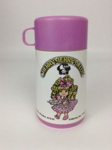 Cherry Merry Muffin Mattel Plastic Lunch Box Thermos w Sip Top Lid Vinta... - $9.85