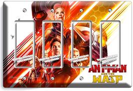 Ant Man And The Wasp Nano Superhero 4 Gfi Light Switch Wall Plate Room Art Decor - $19.79