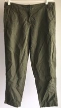 Ann Taylor Loft Pants Marisa Green Flat Front Sz 6 - $15.83