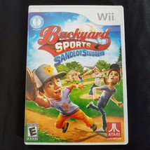 Backyard Sports: Sandlot Sluggers (Nintendo Wii, 2010) Tested - Complete... - $7.77