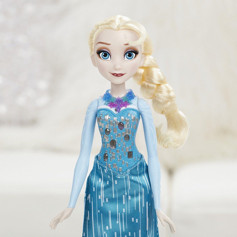 Disney Frozen Crystal Glow Elsa Doll