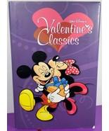 Walt Disney Valentines Classics Mickey Mouse Donald Duck Comics Hardcove... - $12.86