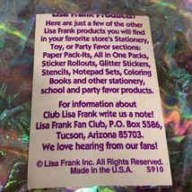 *ONE* VINTAGE 90s LISA FRANK Bubble Prism GALACTIC SUNDAE Sticker Mod  RARE! image 3