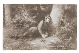 Adieu a la Vie de Korner Death of Soldier Poet Signed O.H. 1913 PFB Post... - $19.95