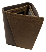 Paul & Taylor Hunter Buffalo Leather RFID trifold 54343 - $26.95