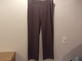 Lands' End Women's Stretchy Green Casual Pants Sz 14-16