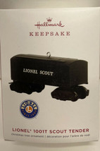 Hallmark Keepsake Lionel 1001T Scout Tender Ornament Die Cast Metal - $4.90