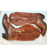 HONDA  SZ 8  FULL SNAKE SKIN WESTERN COWBOY BOOTS Made in Mexico. El Pas... - $49.50