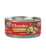 12 Pack Maple Leaf Chunks of Chicken142g Each CAN- FRESH AND DELICIOUS! ... - $40.94