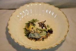 "Sebring Pottery Serenade #1K-G.F.E. Soup Bowl 8"" - $6.92"