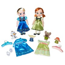 Disney Anna and Elsa Singing Dolls Deluxe Gift Set Animators' Collection - $84.95