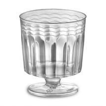 1 Piece 2 oz Pedestal Plastic Wine Glasses/Set of 240 - $92.39