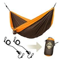 LA SIESTA Colibri Orange - Double Travel Hammock with Suspension - $68.02