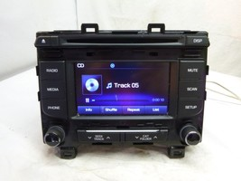 15 2015 Hyundai Sonata Radio Cd MP3 Player 96180-C20004X AA1229 - $34.65