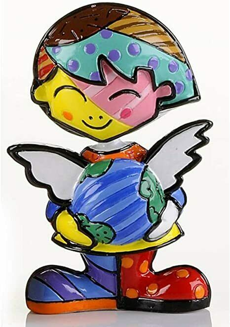 Romero Britto Mini School Girl Figurine  #331849