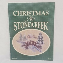 Christmas at Stoney Creek Cross Stitch Pattern Leaflet Book 5  1984 Slei... - $14.99