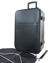 Auth LOUIS VUITTON Pegase 55 Black Taiga Leather Travel Rolling Suitcase... - $975.00