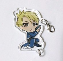 Fullmetal Alchemist Acrylic Keychain Strap Charm Riza Hawkeye Anime Aniplex - $30.68