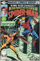 The Spectacular Spider-Man Comic Book Annual #2, Marvel 1980 VERY FINE - $4.99