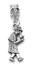 NICE the adventures of SHERLOCK HOLMES sterling Silver Charm European be... - $18.84