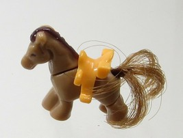 1994 Vintage Polly Pocket Dolls Pony Ridin' Show - Trigger (Horse) Blueb... - $7.50