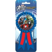Avengers Assemble Marvel Superhero Birthday Party Favor Confetti Award Ribbon - $9.17