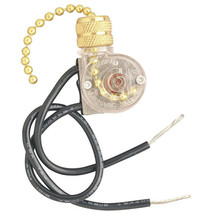Westinghouse 7702300 Light & Fan Pull Chain Switch Kit - $7.40