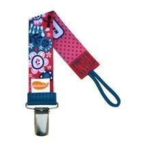 Flower Pacifier Clip - Girls - Ulubulu - Universal Binky Clip - NUK, Avent - $7.99