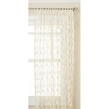 Lorraine Home Fashions 01106-63-00010 Medallion Tailored Window Curtain Panel, 4 - $65.99