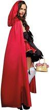 Women's Dream Girl Little Red Riding Hood Deluxe Fantasy Costume Set image 2