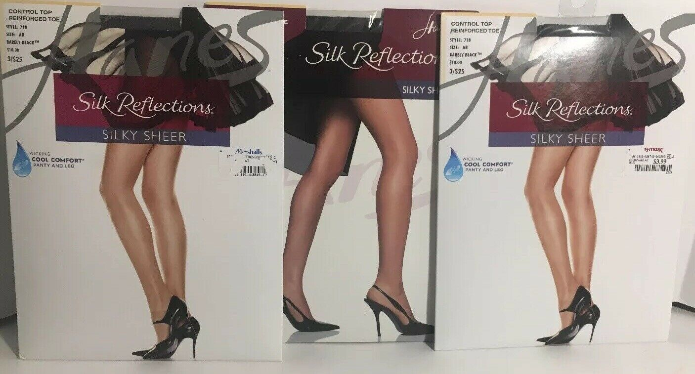 2aabf28a5ce New 3 Hanes Silk Reflections Silky Sheer and 50 similar items. S l1600