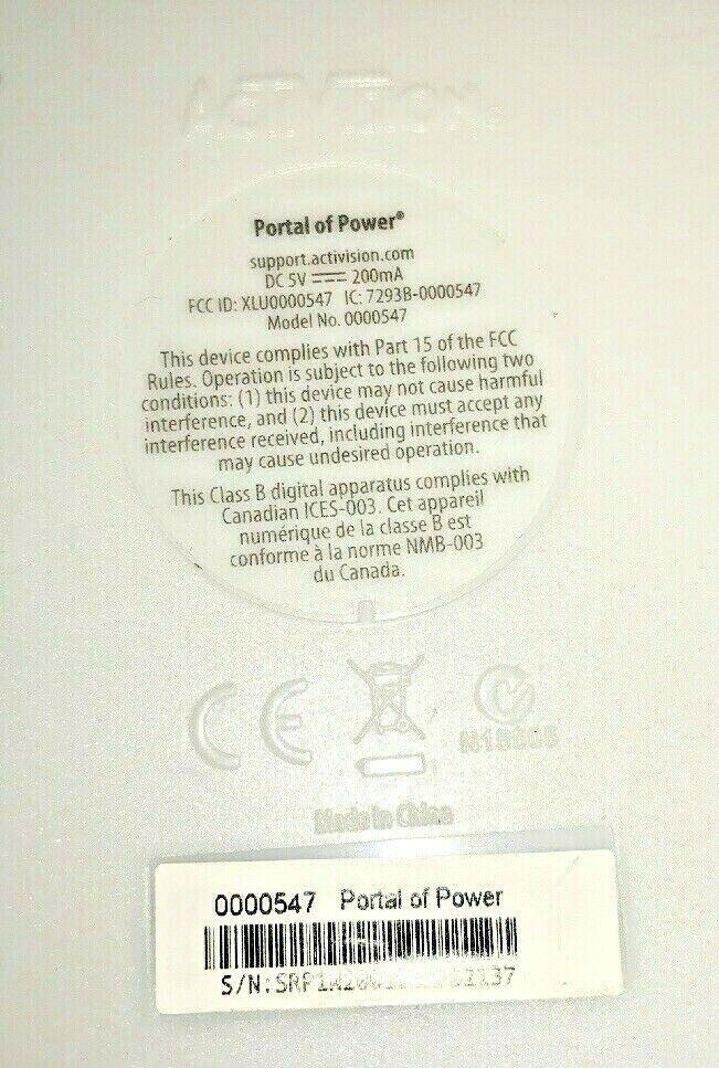 Skylanders GIANTS Nintendo Wii 2012 Game Complete W/ Disc and Portal Of Power image 3