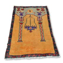 Turkish Rug, Hand knotted Rug, Carpet Rug, Woven Turkey Rug, Wool Old Ru... - $453.73