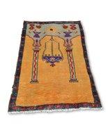 Turkish Rug, Hand knotted Rug, Carpet Rug, Woven Turkey Rug, Wool Old Ru... - $453.73