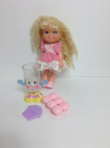Vintage Mattel Cherry Merry Muffin Doll cup cupcakes comb toy set rare htf - $24.75