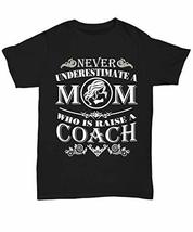 Coach Mom Shirt Funny Gifts for Women Mama Grandma T-Shirt on Mother's D... - $22.72