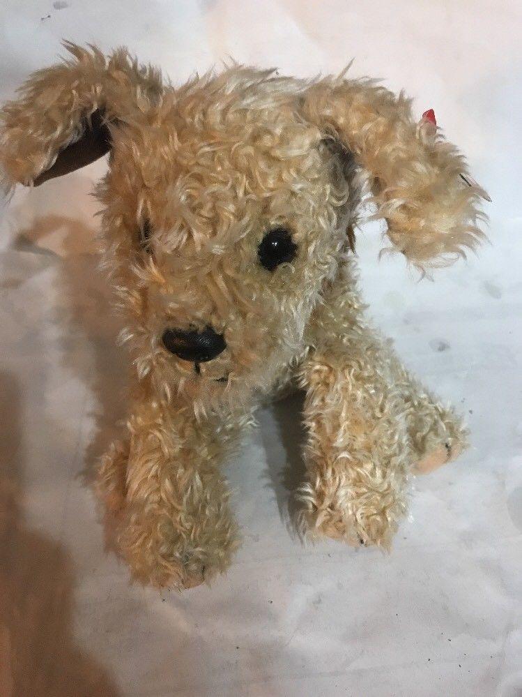 TY Beanie Buddy - MWMTs Stuffed Animal Toy BUTCH the Dog 13.5 inch