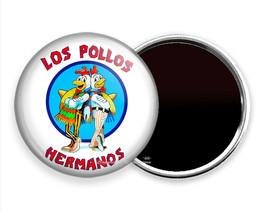 LOS POLLOS HERMANOS CAFE BREAKING BAD FUNNY FRIDGE REFRIGERATOR MAGNET G... - $10.49+