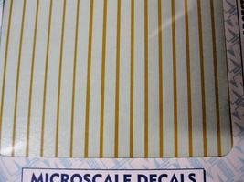"""Microscale Decals Stock #91108 Striping 3"""" and 4 3/4""""  Widths Dulux image 2"""