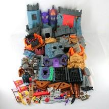 Imaginext Lot Battle Castle Goblins Dungeon Dragomonts Fortress Incomplete Sets - $69.99