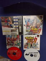 Tobal No.1 Japan Import PS Sony PlayStation1 PS ONE with Flyer F/S - $12.87