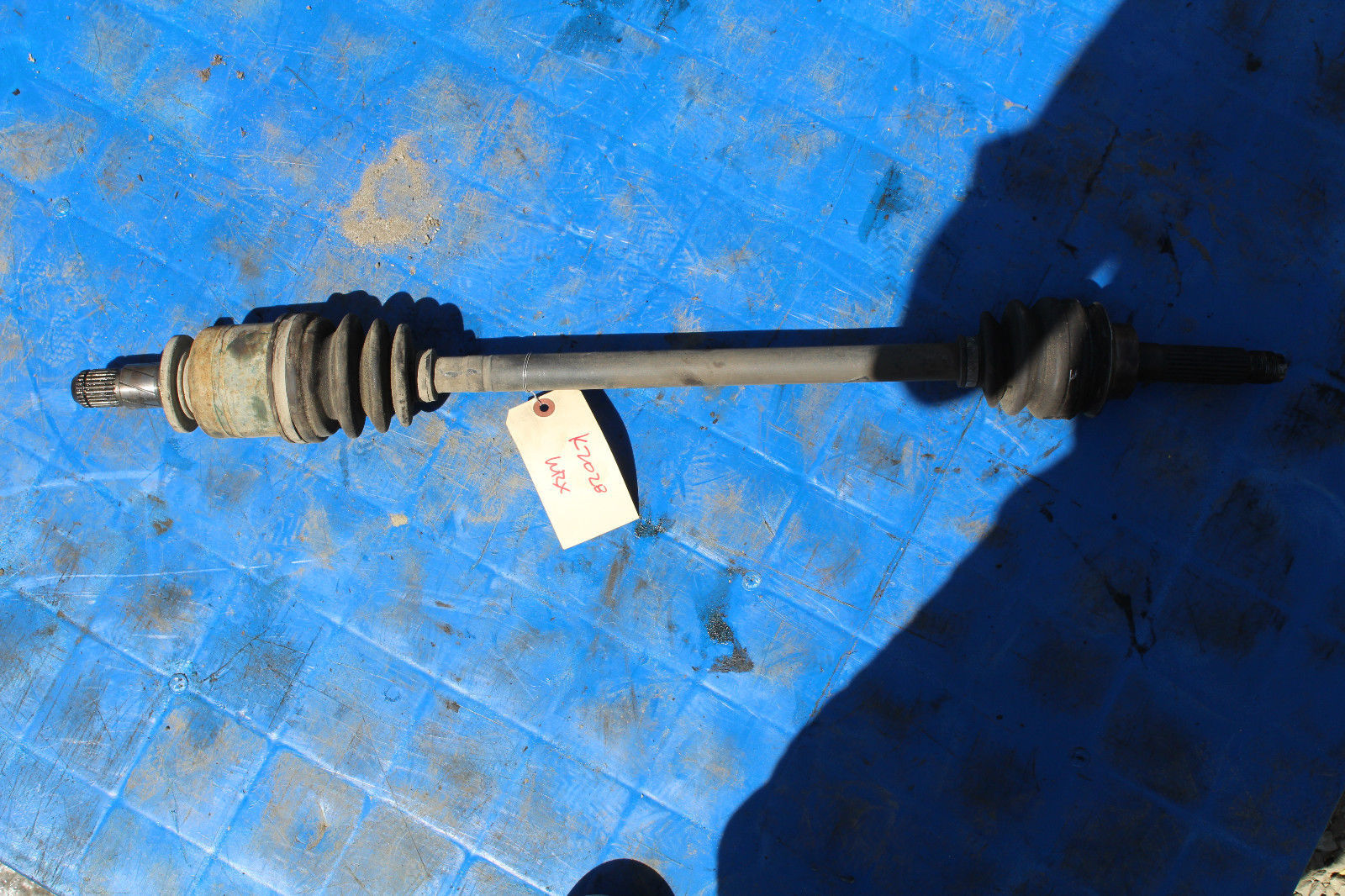 Primary image for 2002-2005 SUBARU WRX IMPREZA LH REAR DRIVER'S SIDE AXLE SHAFT K2028