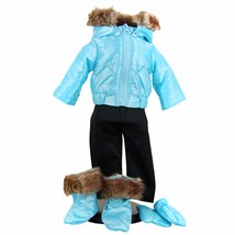 "15 "" Inch Baby Doll Clothes Fit American Girl Bitty Twin Snow Suit & Sho... - $25.23"