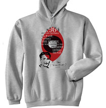 Orwell George - 1984 - New Cotton Grey Hoodie - $31.88