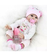 Real Looking Reborn Baby Doll 16 Inch 40cm Realistic Lifelike Baby Girl ... - $53.45
